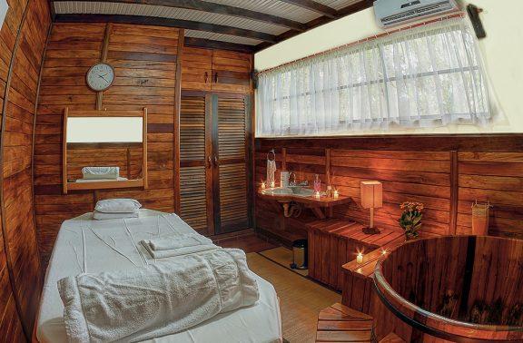 Sala de Massagem – Pousada Mirágua Refúgios